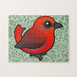 Hepatic Tanager Jigsaw Puzzles