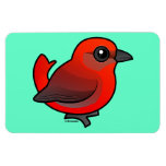 Hepatic Tanager Magnets