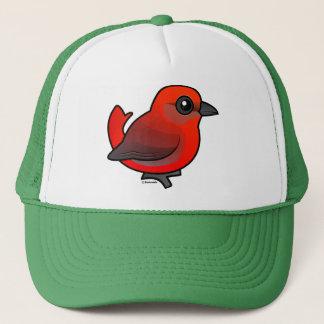 Hepatic Tanager Trucker Hat