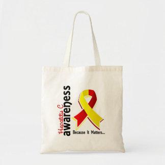 Hepatitis C Awareness 5 Tote Bags