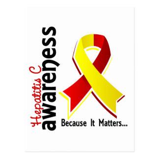 Hepatitis C Awareness 5 Postcard