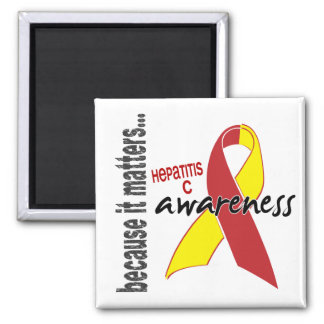 Hepatitis C Awareness Fridge Magnet