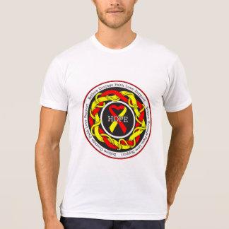 Hepatitis C Hope Intertwined Ribbon T Shirt