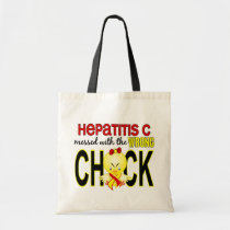 Hepatitis C Messed With Wrong Chick Tote Bag