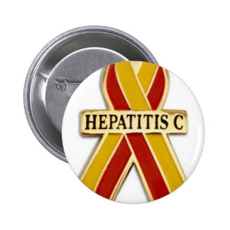 Hepatitis C Ribbon Products Pinback Buttons