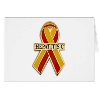 Hepatitis C Ribbon Products Card