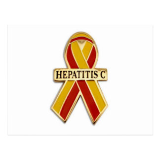Hepatitis C Ribbon Products Postcard