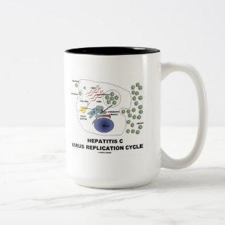 Hepatitis C Viral Replication Cycle Mug