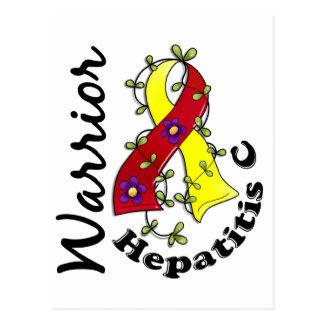 Hepatitis C Warrior 15 Postcard