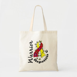 Hepatitis C Warrior 15 Tote Bag
