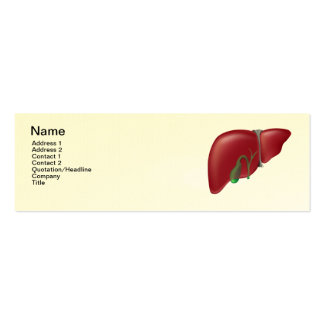 Hepatologist doctor Business Card