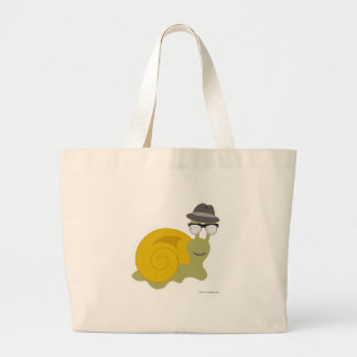 Hepcat Snail Large Tote Bag