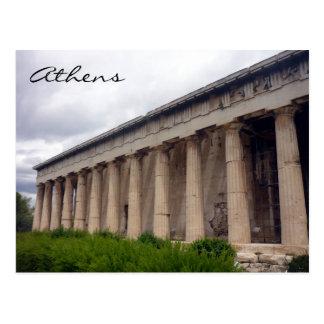 hephaestus columns post cards