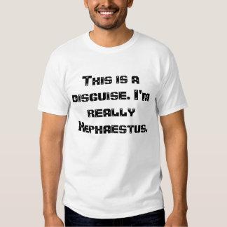 Hephaestus costume. tee shirt