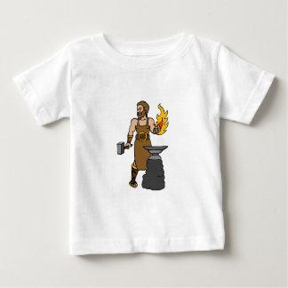 Hephaestus greek god blacksmith infant t-shirt