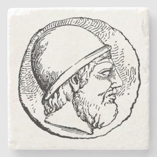 Hephaestus marble stone coaster