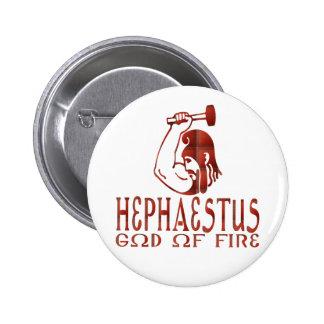Hephaestus Pin Redondo De 2 Pulgadas
