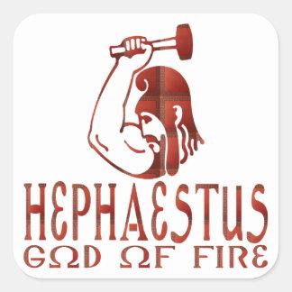 Hephaestus Square Sticker