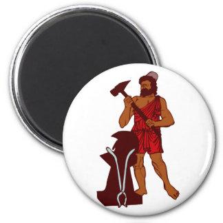 Hephaistos 2 Inch Round Magnet