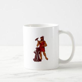 Hephaistos Classic White Coffee Mug