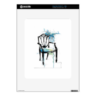 Hepplewhite Chair - Watercolor Skin For The iPad