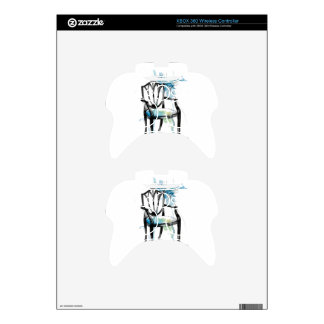 Hepplewhite Chair - Watercolor Xbox 360 Controller Skin