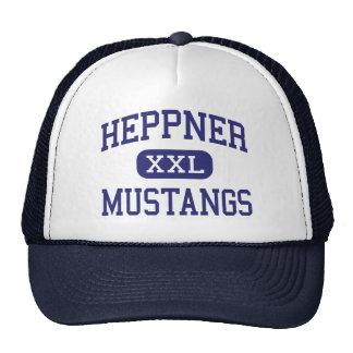 Heppner - Mustangs - High School - Heppner Oregon Trucker Hat