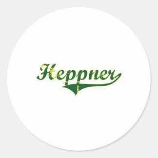 Heppner Oregon City Classic Stickers