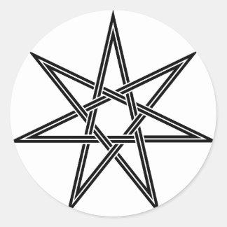 Heptagon Stickers | Zazzle