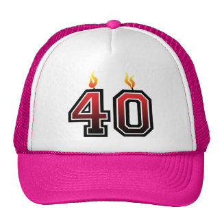 Her 40th Birthday Trucker Hat