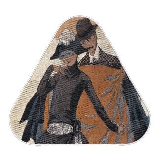 Her and Him, Fashion Illustration, 1921 (pochoir p Speaker