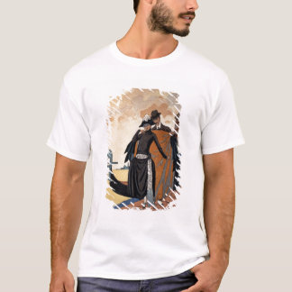 Her and Him, Fashion Illustration, 1921 (pochoir p T-Shirt