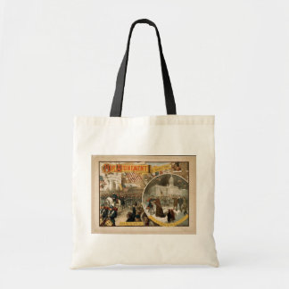 Her Atonement, 'Off to the War 62' Vintage Theater Canvas Bags