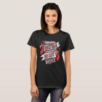 Her Battle Is My Battle Blood Cancer T-Shirt