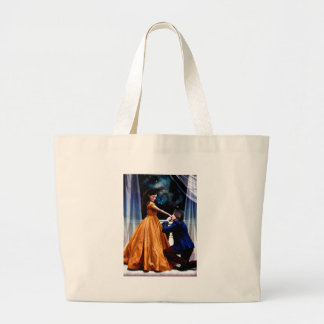 Her Beast and His Beauty Large Tote Bag