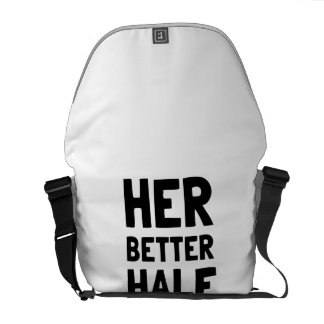 Her Better Half Courier Bag