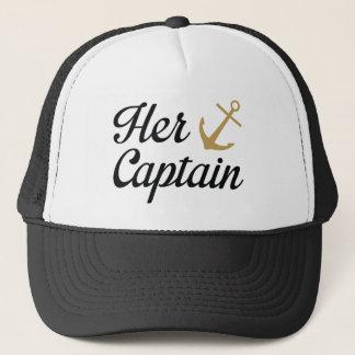 Her Captain Trucker Hat