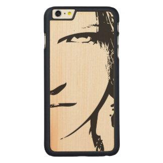 Her Carved Maple iPhone 6 Plus Slim Case
