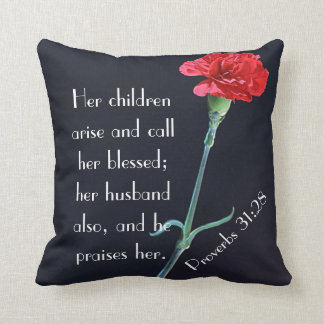her children arise and call her blessed pillow