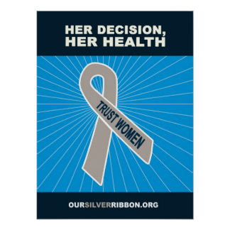 Her Decision, Her Health Posters
