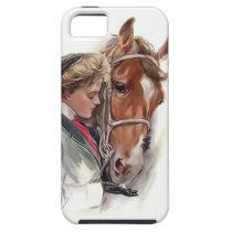 Her Favorite Horse iPhone SE/5/5s Case