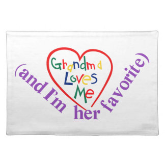 Her Favorite! Cloth Placemat