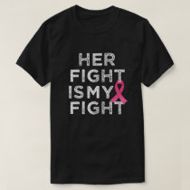 Her fight  Breast Cancer Awareness mens shirt