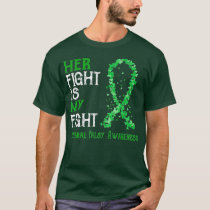 Her Fight Is My Fight Cerebral Palsy Awareness T-Shirt
