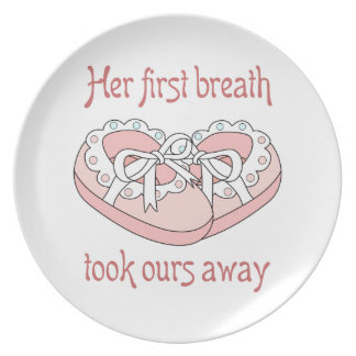 HER FIRST BREATH PLATE
