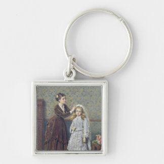 Her First Communion Key Chains