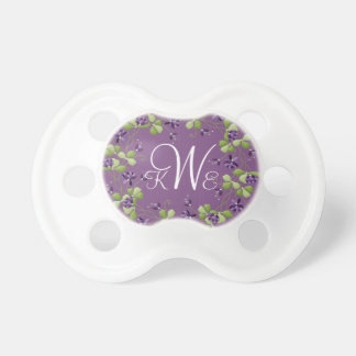 Her First Monogram Pacifier