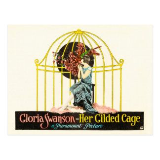Her Gilded Cage (Paramount, 1922) Postcard