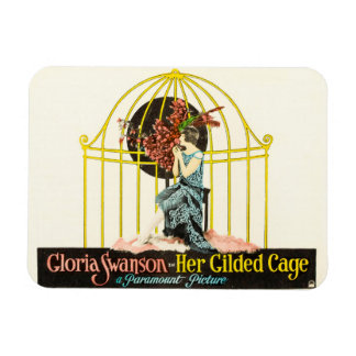 Her Gilded Cage (Paramount, 1922) Rectangular Photo Magnet