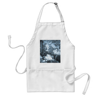 Her Guardian Angel -- Vintage Stereoview Adult Apron